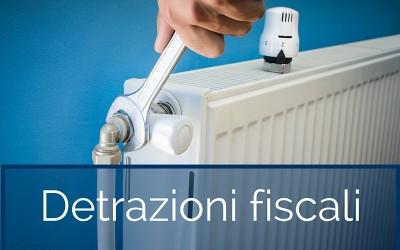 Detrazioni fiscali per il risparmio energetico